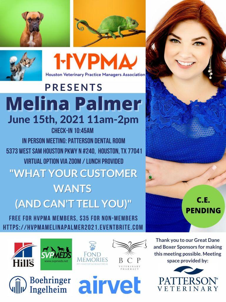 Q2 HVPMA Meeting with Melina Palmer